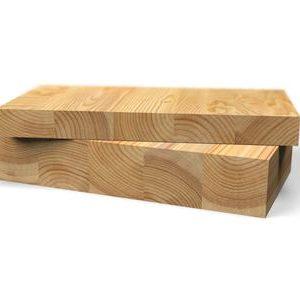 Мебельный щит лиственница 20 мм. для бани и сауны