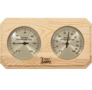 Термогигрометр Sawo 221 для бани и с