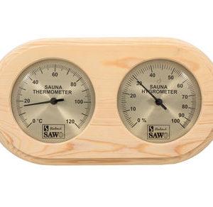 Термогигрометр Sawo 222 для бани и сaуны