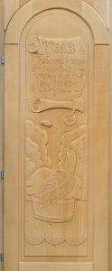 Дверь резная «Указ» ложная арка