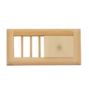 Вентиляционная решетка с задвижкой малая