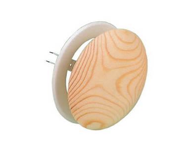 Вент клапан липа ∅ 100 для бани и сауны