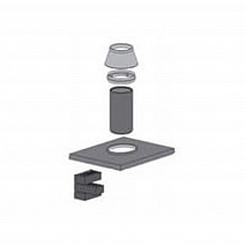 Верхний комплект (обмуровка) одноходовой с вент. каналом UNI Schiedel для бани и сауны