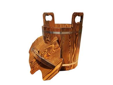 Запарник лиственница мореная для бани и сауны