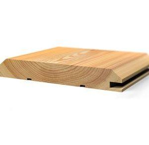 Имитация бруса лиственница 20x140 для бани и сауны