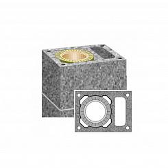 Комплект дымохода одноходовой с вент. каналом UNI Scheidel для бани и сауны