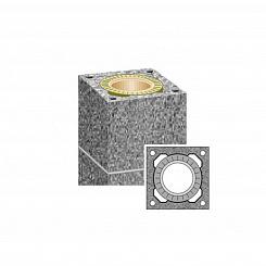 Комплект дымохода одноходовой UNI Scheidel для бани и сауны