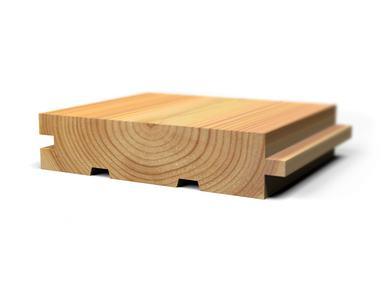 Половая доска лиственница 21x120 для бани и сауны