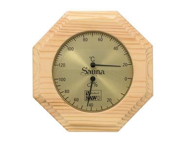 Термогигрометр Sawo 241 для бани и сауны