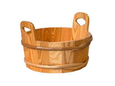 Шайка лиственница натуральная для бани и сауны