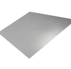 Экран защитный зеркальный из нержавеющей стали 2 для бани и сауны