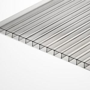 Поликарбонат сотовый прозрачный 3 мм., Izopol