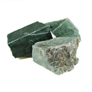 Камни для печей Нефрит колото-пиленный 10 кг