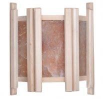Абажур с гималайской солью «Три плитки» вертикаль