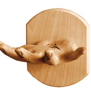 Вешалка «Рука» тонированная
