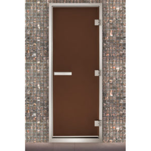 Дверь для паровых Maestro Woods Арабика бронза матовая