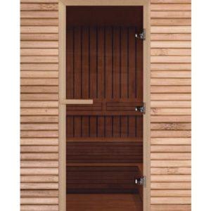 Дверь для сауны Maestro Woods Бронза