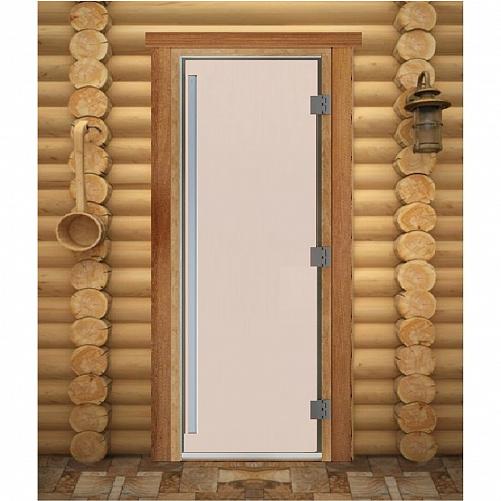 Дверь для сауны Maestro Woods Престиж Сатин