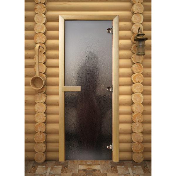 Дверь для сауны Maestro Woods Силуэт (Фотопечать)