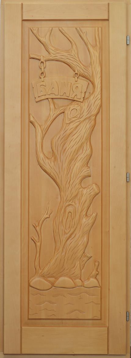 Дверь резная «Дерево»