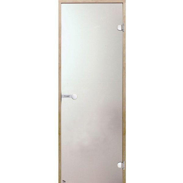Дверь стеклянная Harvia сатин