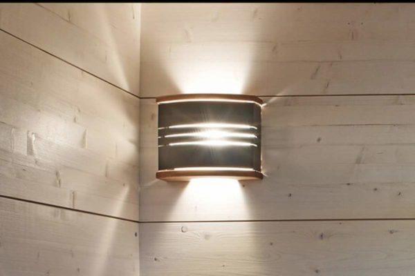 Комплект Harvia Светильник + абажур Steel (SAS21106)