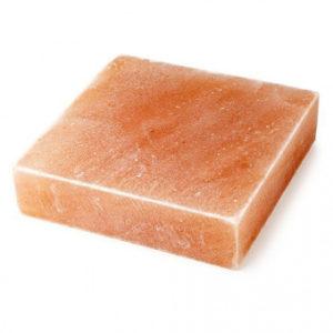 Плитка из гималайской розовой соли 200x200x25 мм шлифованная