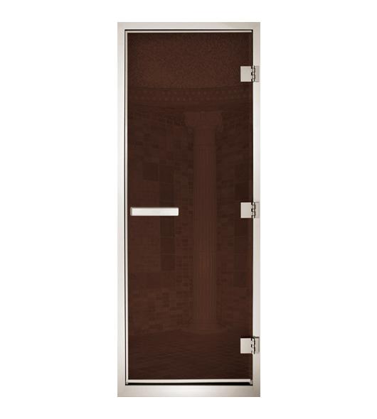 Дверь для паровых Maestro Woods Арабика бронза