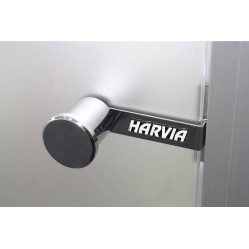 Дверь стеклянная Harvia сатин с алюминиевой коробкой