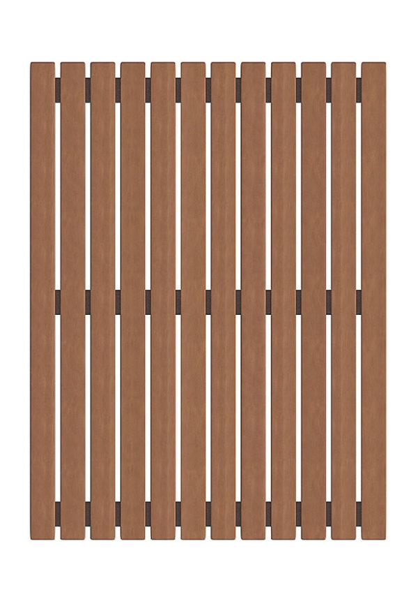 Решетка на пол из термо-осины Wood Country