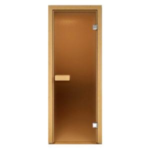 Дверь для сауны Just a Door Бронза матовая