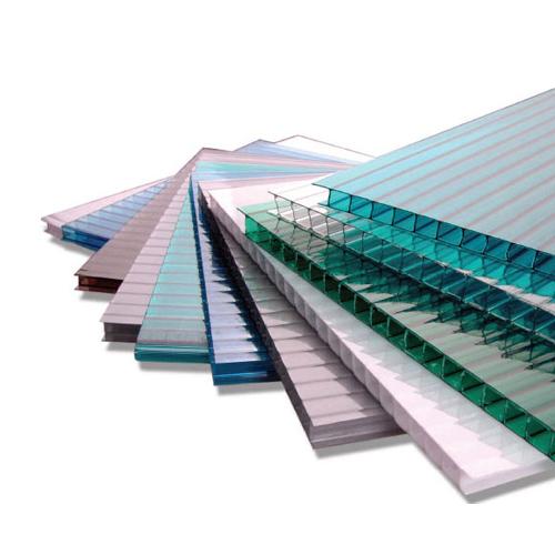 Поликарбонат сотовый 6 мм Прозрачный и цветной,Ug-Поликарбонат сотовый 10 мм прозрачный и цветной,Ug-premium-Plasticpremium-Plastic