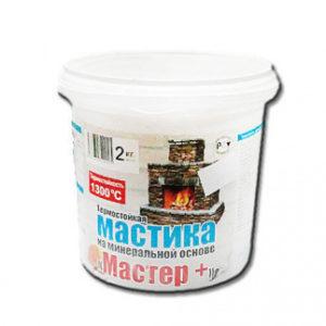 Мастика термостойкая МАСТЕР ведро 2 кг