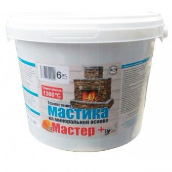 Мастика термостойкая МАСТЕР ведро 6 кг